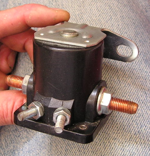 old solenoid from universal m3-20b diesel  something loose inside could be  heard upon shaking the unit